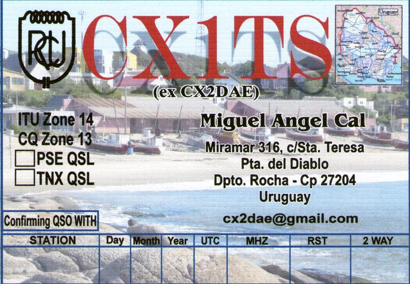 QSL image for CX1TS