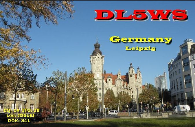 QSL image for DL5WS