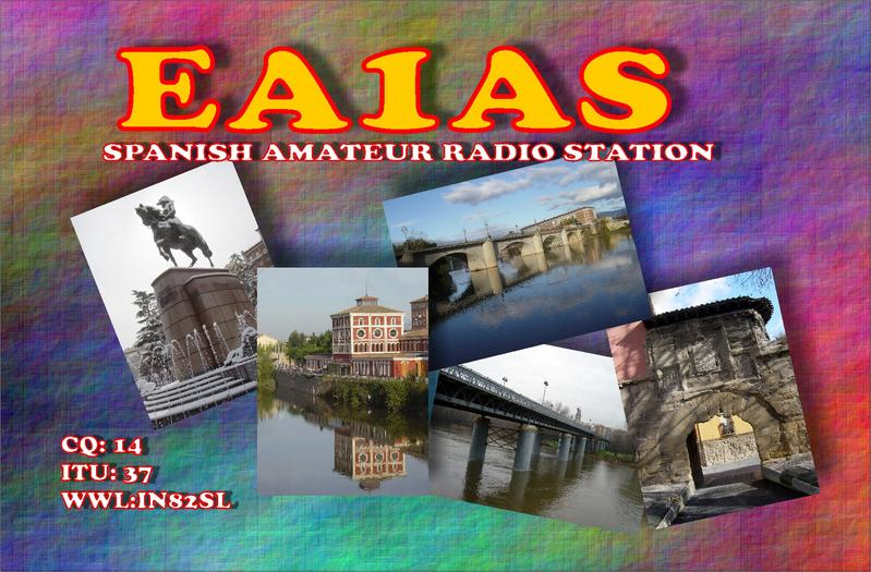 QSL image for EA1AS