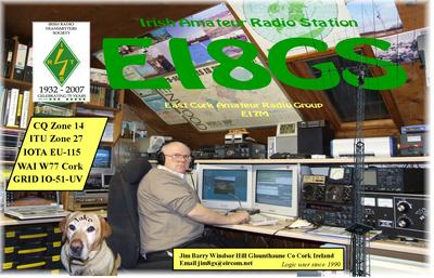 QSL image for EI8GS