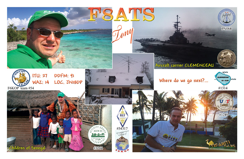 QSL image for F8ATS