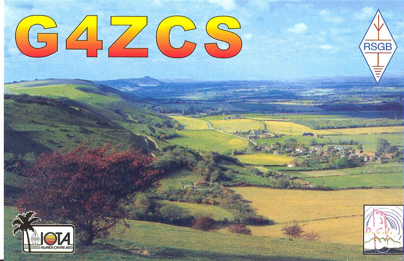 QSL image for G4ZCS