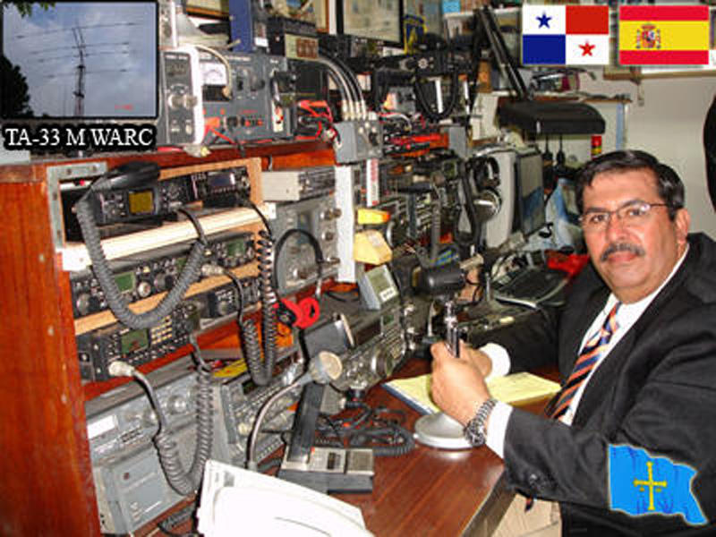 QSL image for HP1AVS