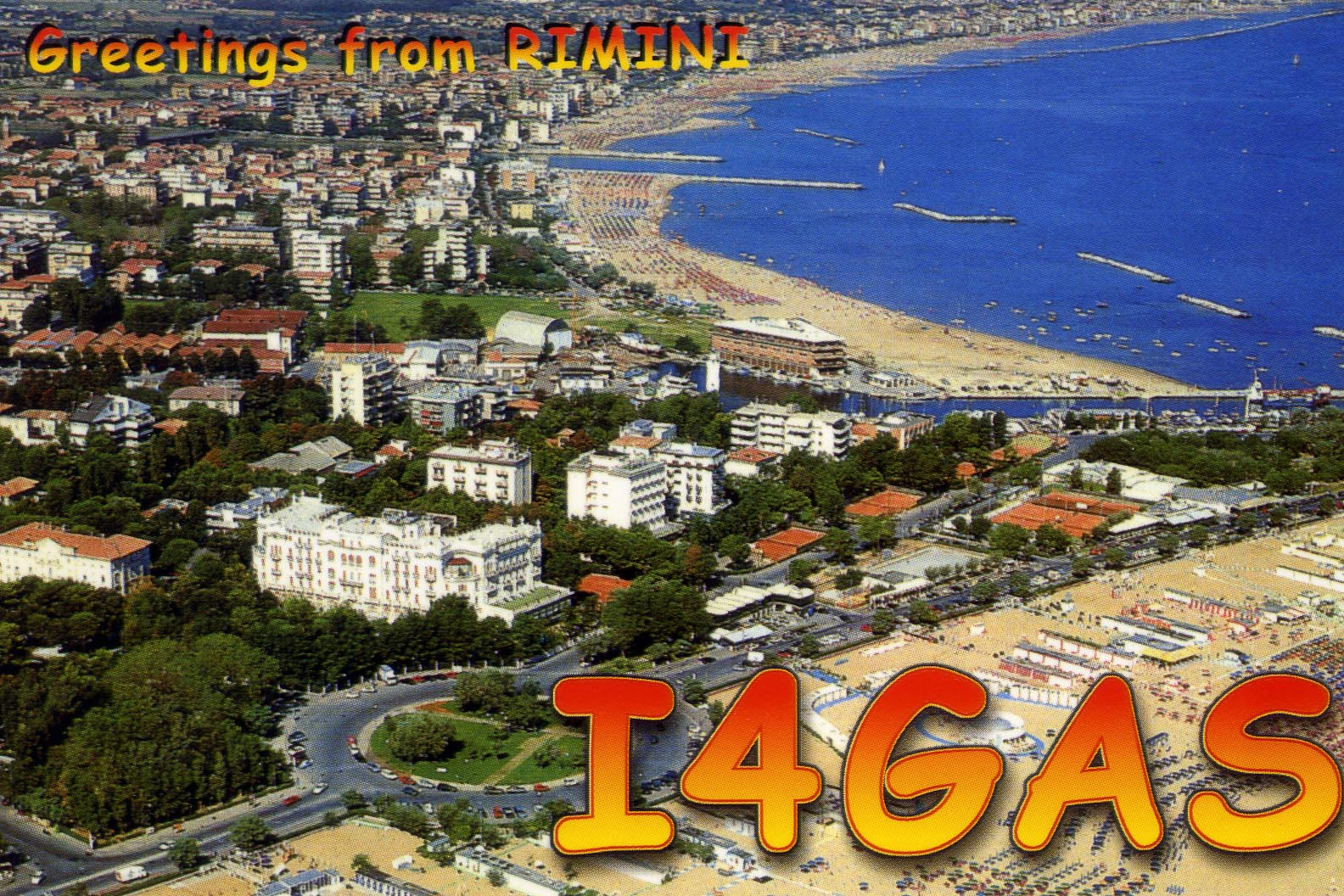 QSL image for I4GAS