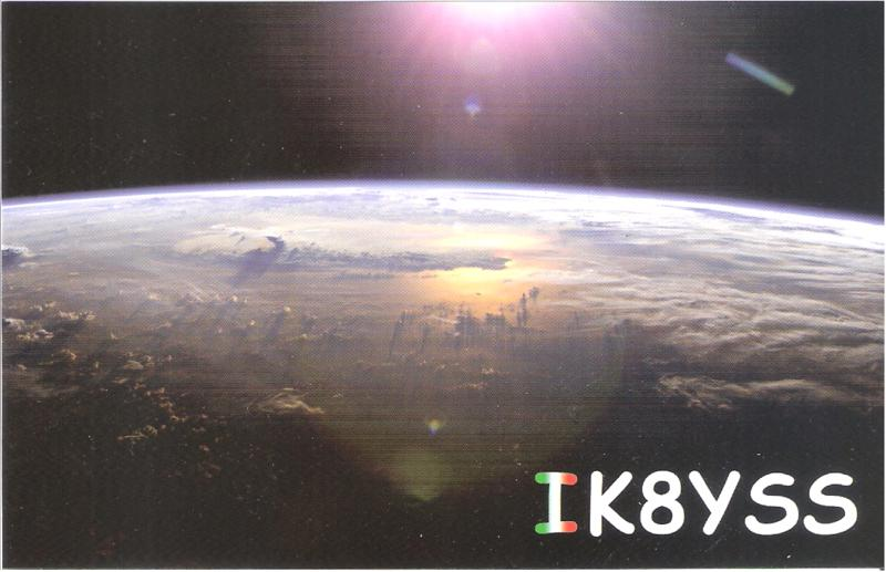 QSL image for IK8YSS