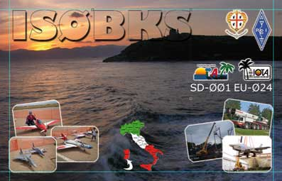 QSL image for IS0BKS