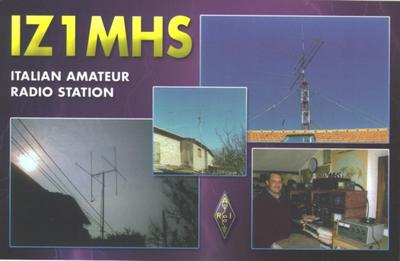 QSL image for IZ1MHS