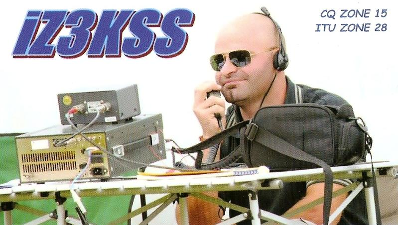 QSL image for IZ3KSS