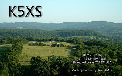 QSL image for K5XS