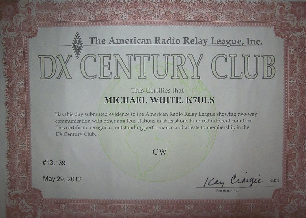 DXCC CW