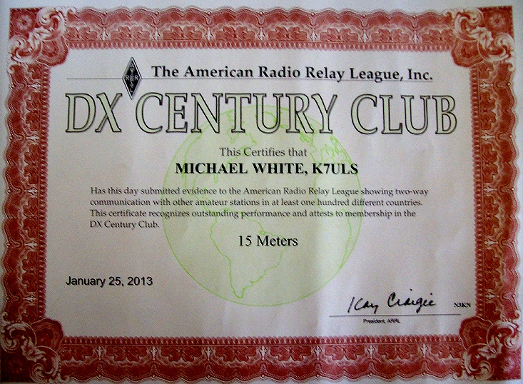 DXCC 15
