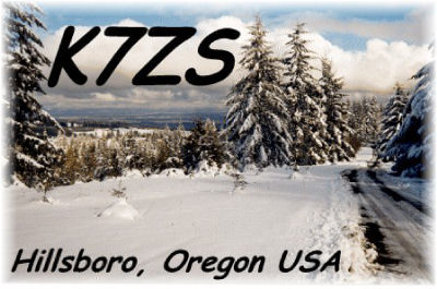 QSL image for K7ZS