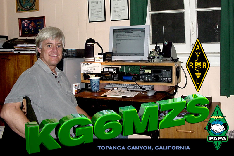 QSL image for KG6MZS