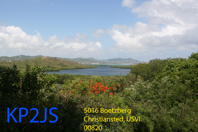 QSL image for KP2JS