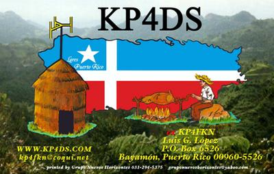 QSL image for KP4DS
