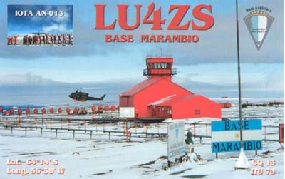 QSL image for LU4ZS