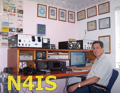 QSL image for N4IS