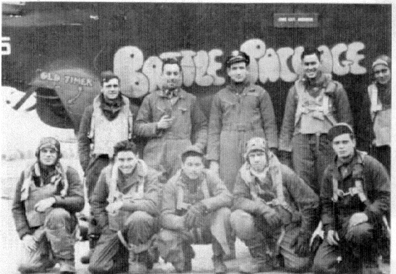 my uncle Walter and his crew 453rd bom group WWII