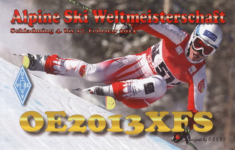 QSL image for OE2013XFS