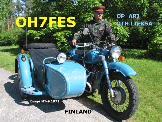 QSL image for OH7FES