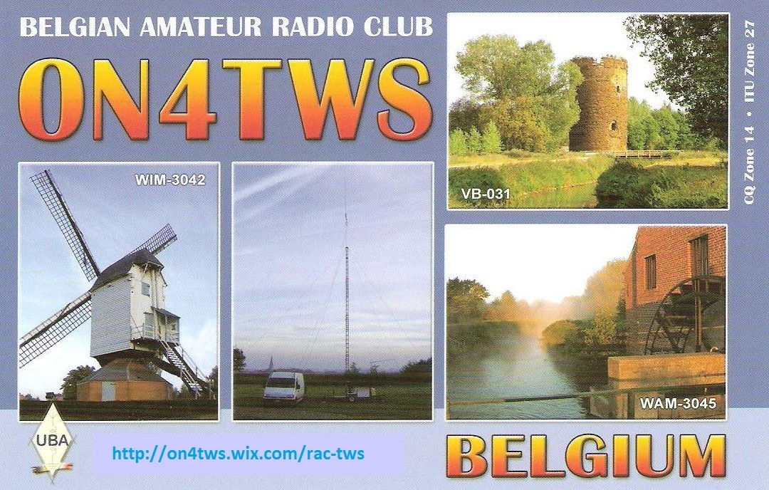 QSL image for ON4TWS