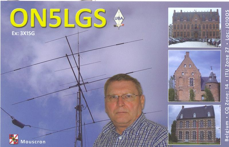 QSL image for ON5LGS
