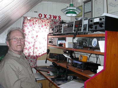 QSL image for OX3WS