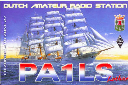 QSL image for PA1LS