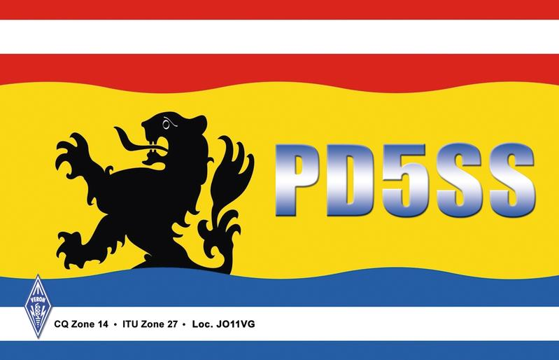 QSL image for PD5SS