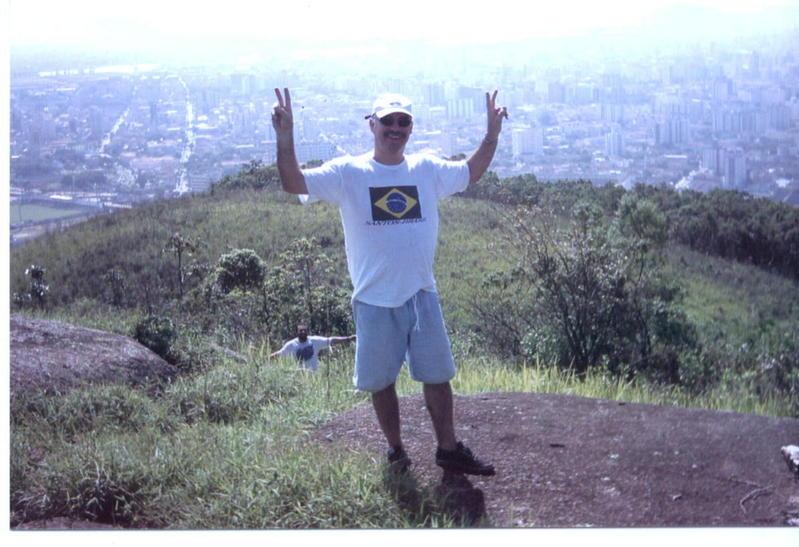 Cityscape Santos