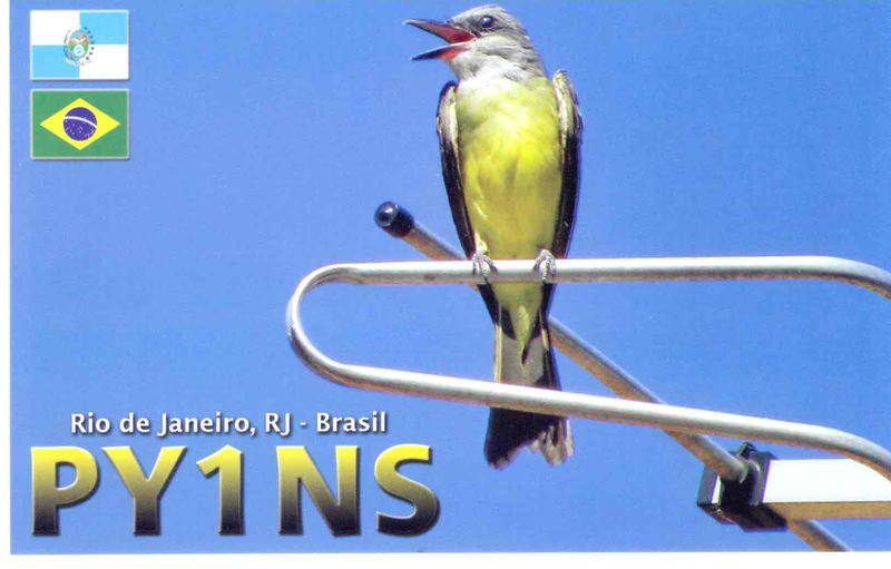 QSL image for PY1NS