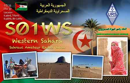 QSL image for S01WS
