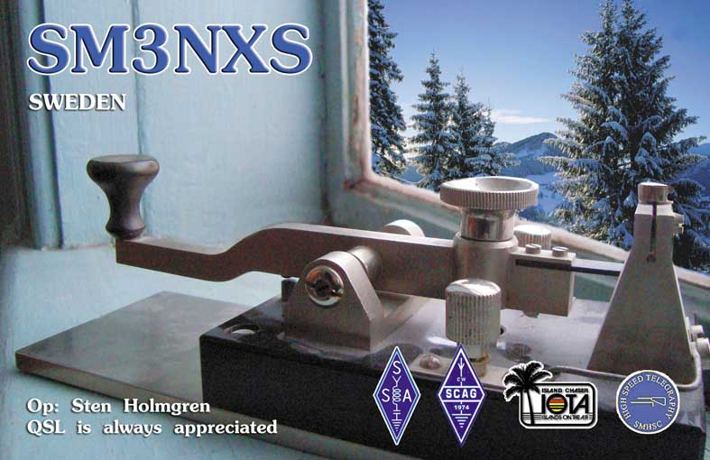 QSL image for SM3NXS