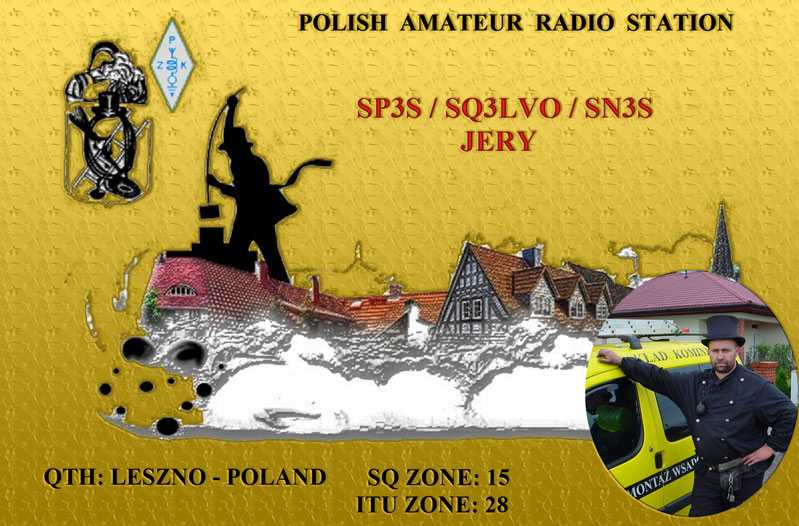 QSL image for SP3S