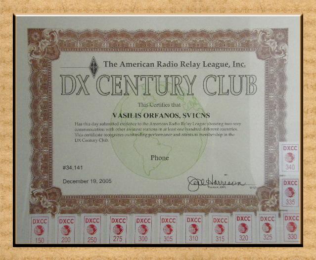 My DXCC