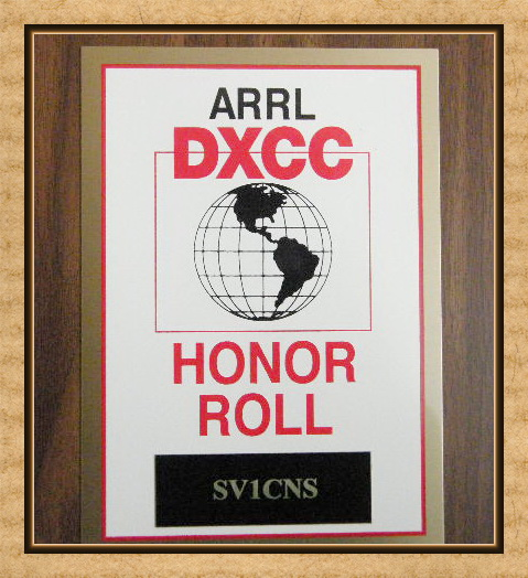 ARRL HONOR ROLL