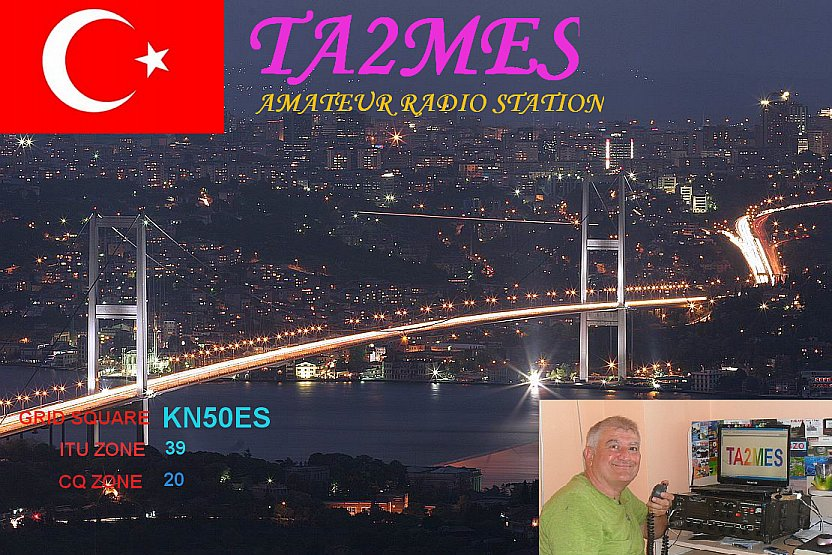 QSL image for TA2MES