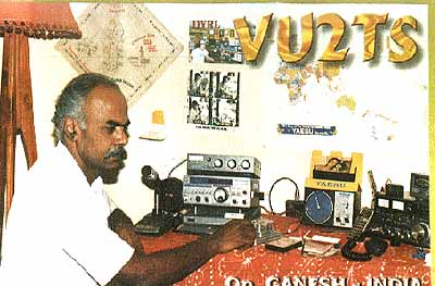 QSL image for VU2TS