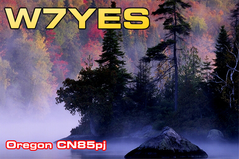 QSL image for W7YES