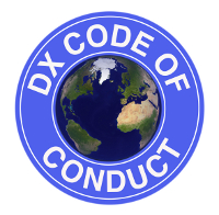 I support the DX Code of Conduct.