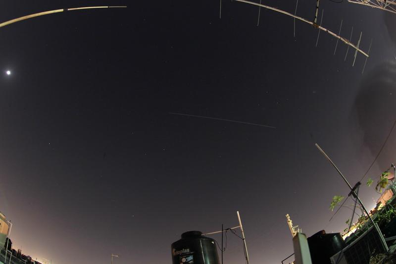 ISS over Cancun , foto by XE3ISS