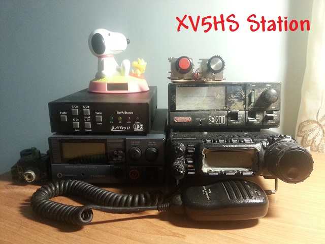 QSL image for XV5HS