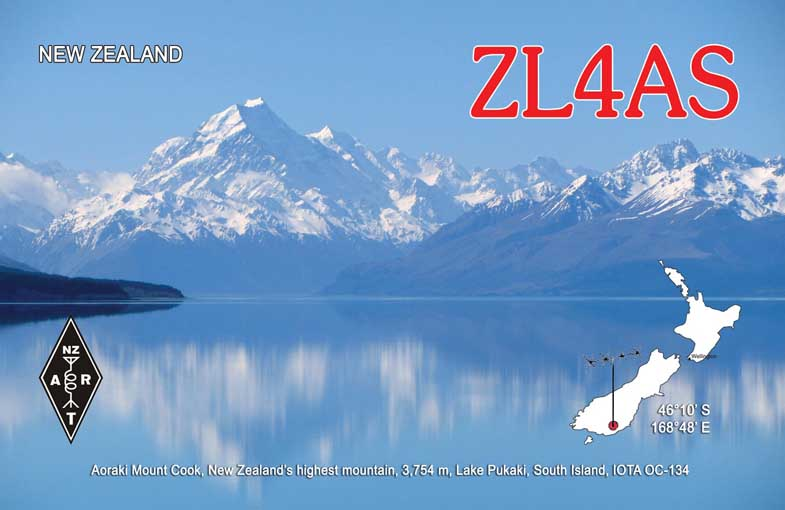 QSL image for ZL4AS