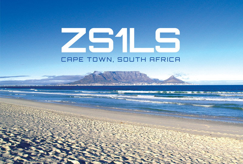 QSL image for ZS1LS