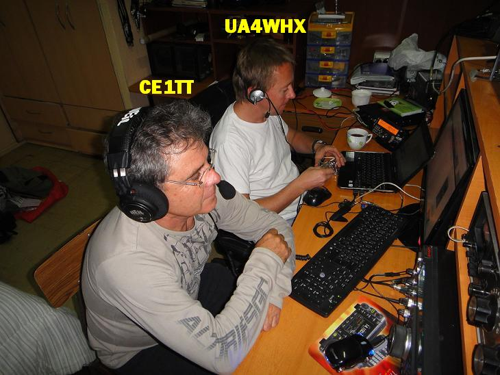 QSL image for CE1TT