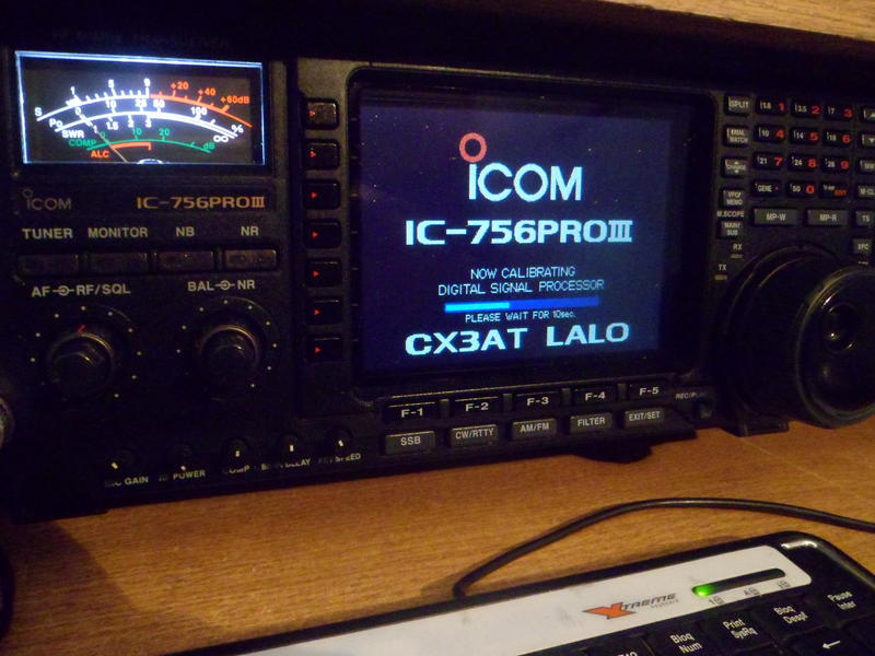 QSL image for CX3AT