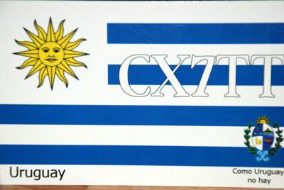 QSL image for CX7TT