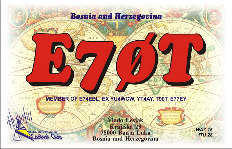QSL image for E70T