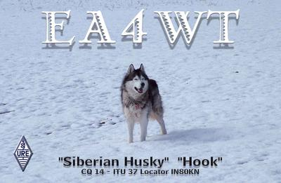 QSL image for EA4WT