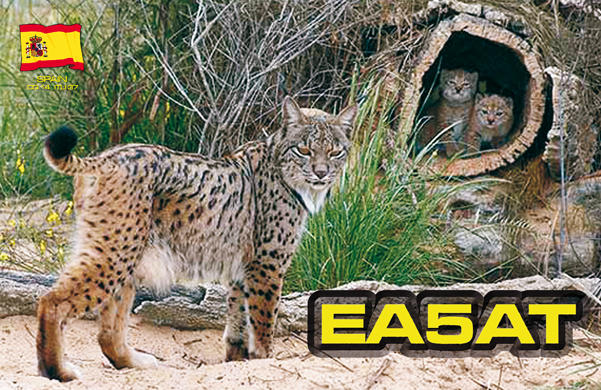 QSL image for EA5AT